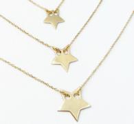 złoty naszynik z gwiazdką